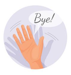 hand-waving-goodbye-in-round-vector-18710259